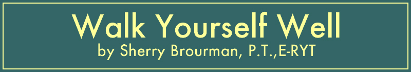 Walk Yourself Well by Sherry Brourman P.T.